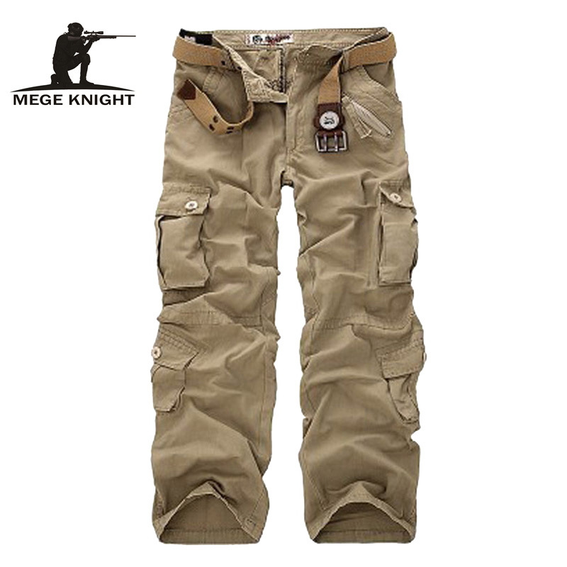 Large Plus Size New Tactical Pants Military  Men Camouflage Cargo Pants Male Overalls Casual Trousers