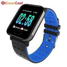 Smart Wristband For Samsung Galaxy J4 J6 J8 J3 J5 J7 2017 A3 A5 A7 A6 A8+ A9 2018 Blood Pressure Waterproof Smart Watch Bracelet