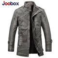JOOBOX Brand Leather Jacket Men 2016 New Fashion Slim Vintage Motorcycle Leather Jackets Winter Thickening Parka Men