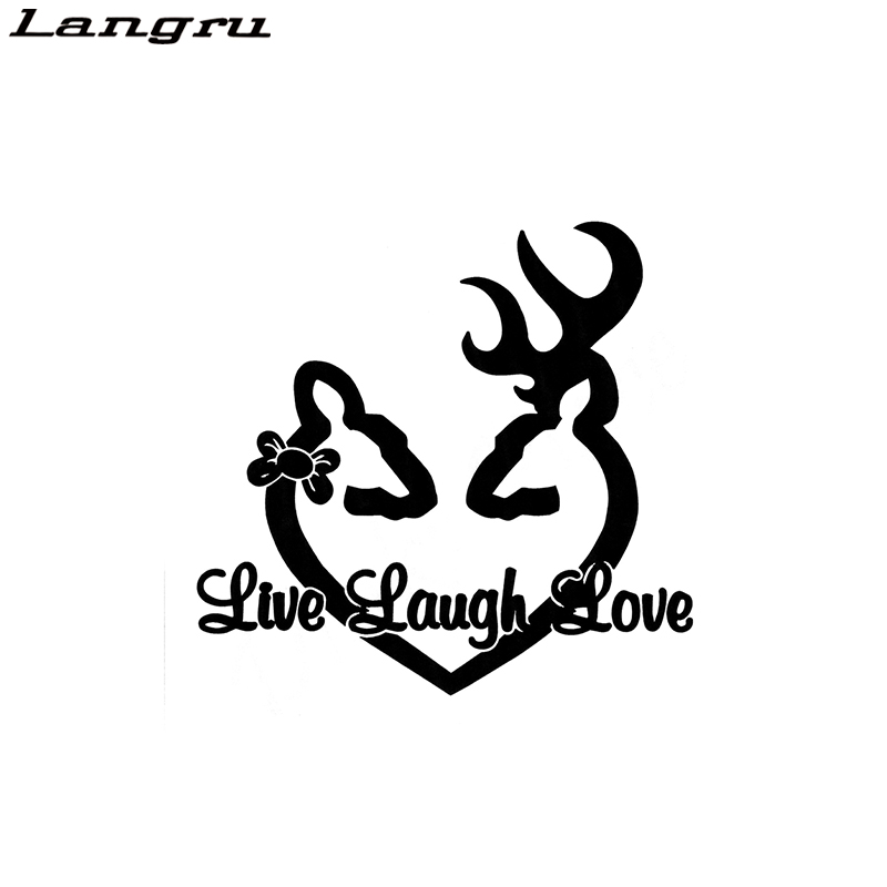 Live Laugh Love Funny Car//Window JDM VW EURO Vinyl Decal Sticker
