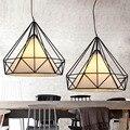 Modern American Countryside Pendant Lights Retro Single Head Pendant Lamps for Restaurant/Dining Room E27 110V 220V Home Decor