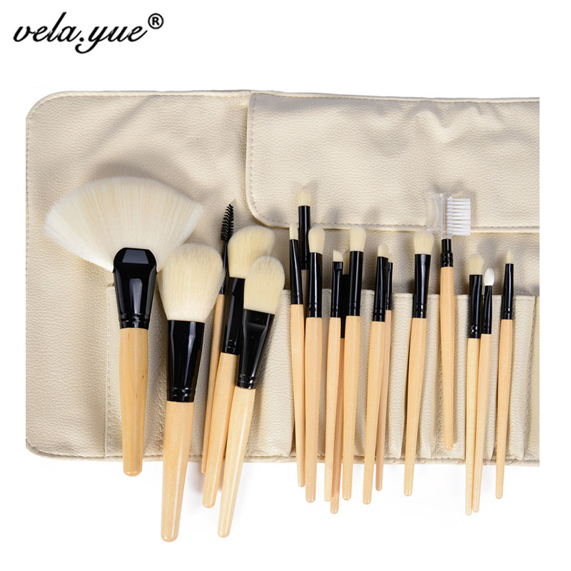 Professional Makeup Brushes Set Superfine Soft Synthetic Fiber Hair Makeup Tools Kit with Bag No Shedding No Smell Well Made