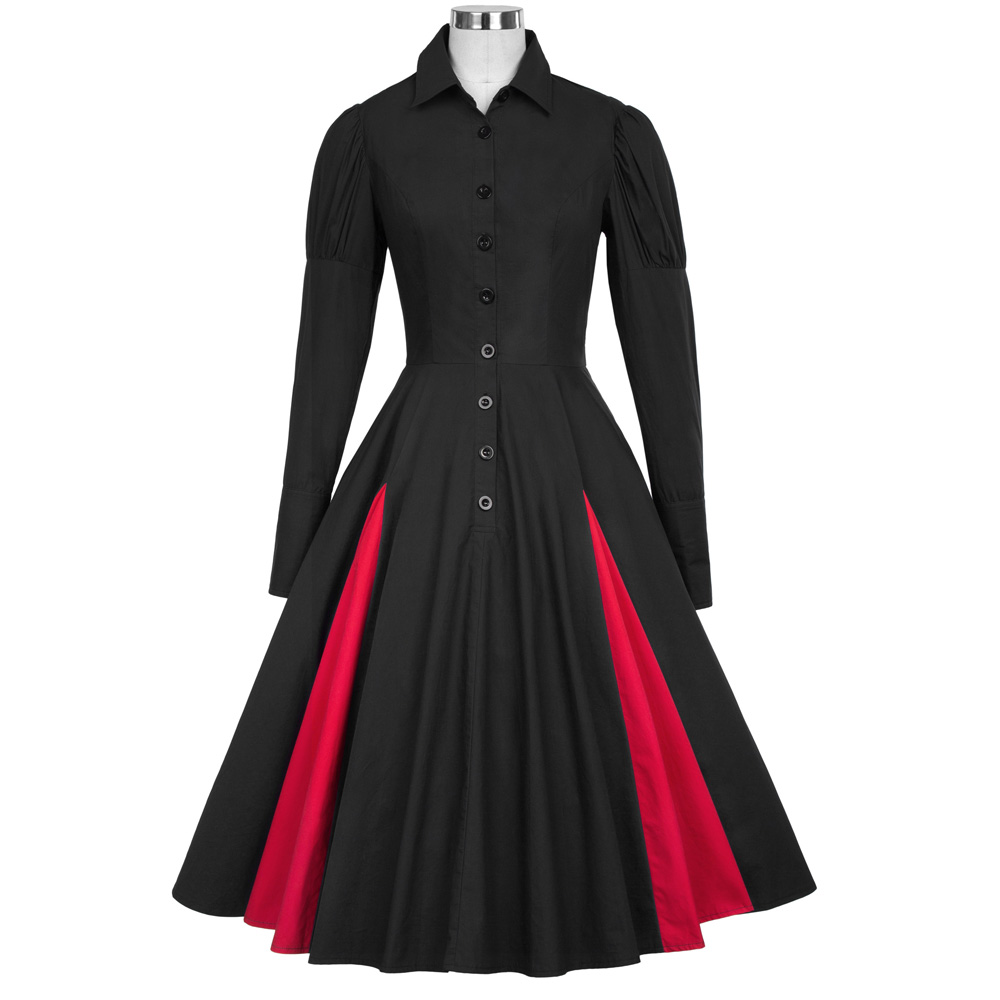 Online get cheap victorian style dresses for Victorian style