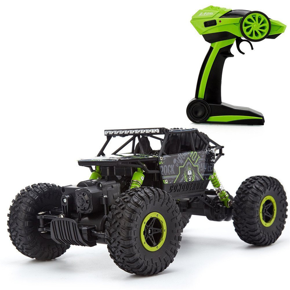 free HB-P1803 2.4GHz 4CH 1:18 Scale RC Car Rock Crawler 4WD Off-road Racing Truck Toy Four-wheel climbing car Trucks ag16 P30 rc car 2 4ghz rock crawler rally car 4wd truck 1 16 scale off road race vehicle buggy electronic rc model toy 9504 yellow