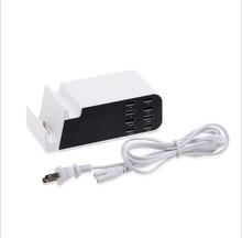 8-port usb charger fast charging smart socket multi-port bracket IOS Samsung Type-c