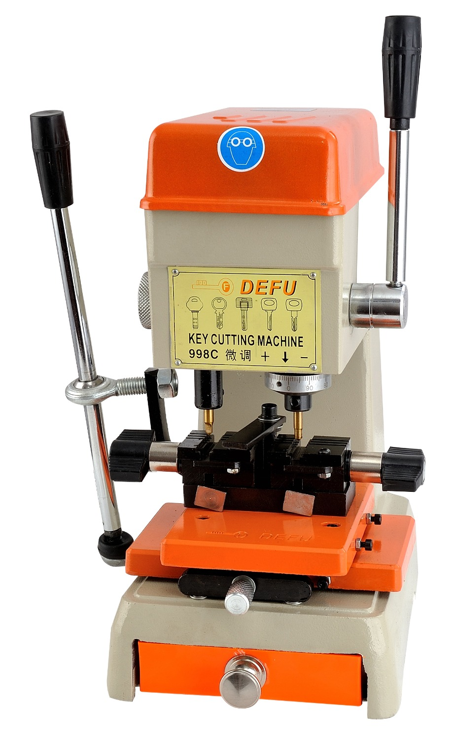 Key Cutter Defu 998C New Automatic Car Key Cutting Machine Keys Duplicator Locksmith Tools цены