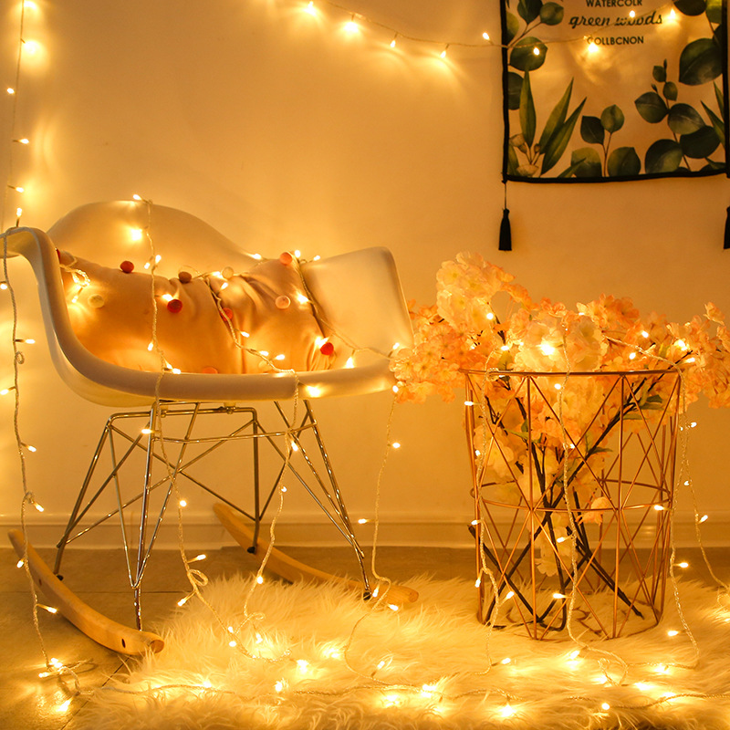1/4/10M LED Light String Battery Power Outdoor Waterproof Christmas Wedding Party Fairy Lights String Holiday Lighting Decoratio
