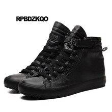 Invierno Primavera Hip Hop Venta Caliente De Los Zapatos Ocasionales  Hombres Lona Zapatillas Estilo Callejero Negro 2018 Nuevo E.. 40fd026cb96