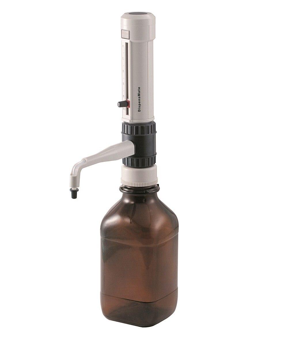 Bottle Top Dispenser DispensMate DLab StepMate Stepper Without Brown reagent bottle 0 5 5ml 1 10ml