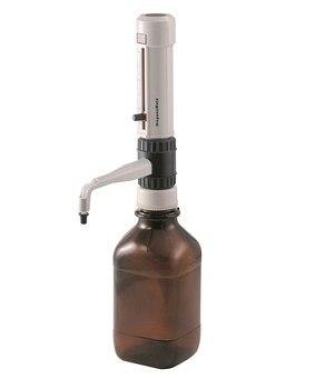 Dispensador de frasco Superior DispensMate DLab StepMate Stepper Sem frasco de reagente Marrom 0.5-5 ml/1-10 ml /2.5-25 ml Laboratório Dragão Marca