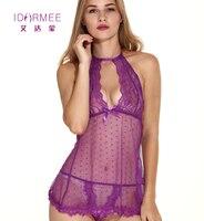 IDARMEE S6575 XXL Plus Size Lingerie Lace Women Sexy Lingerie Open Crotch Erotic Lenceria Babydolls Sex