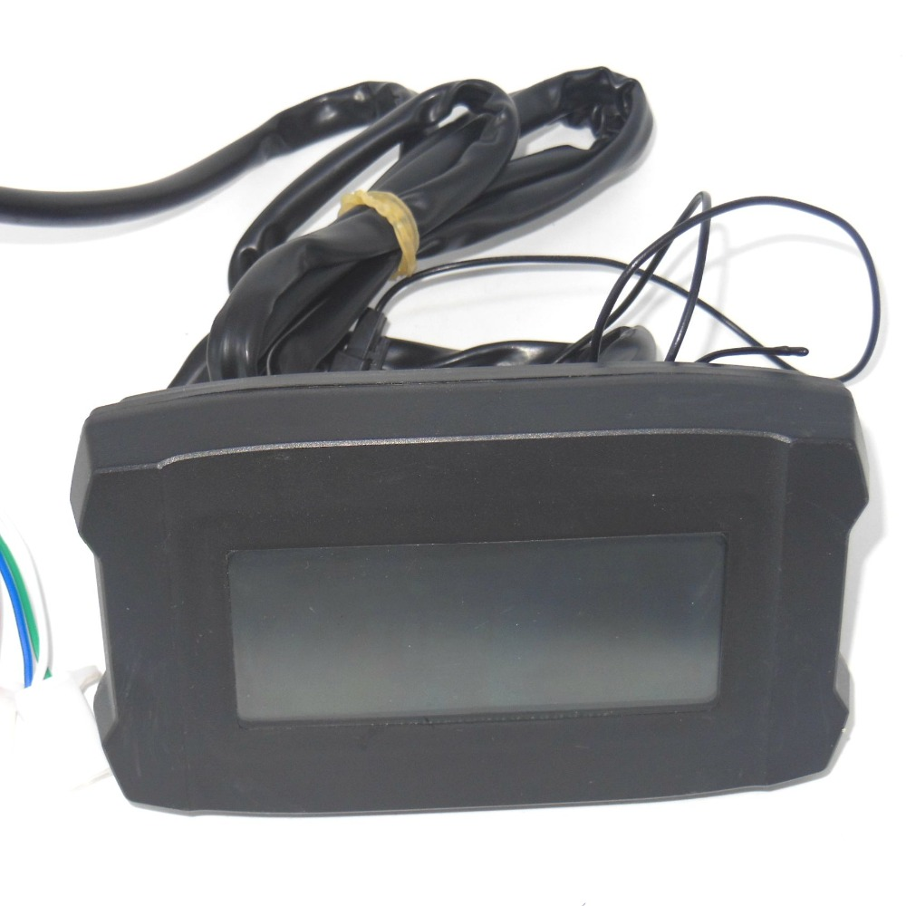 EVfitting Simple Electric Bicycle LCD Display With Speed Meter And Battery Status Indicator Functions Most Controller Can Use
