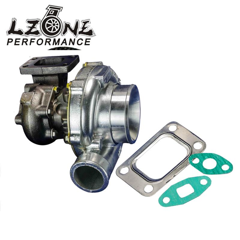 цена на LZONE RACING - GT35 Turbo charger A/R:.70 cold,.63 hot,t3 flange Turbocharger Horsepower rating: 300-500hp JR-TURBO44