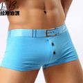Hot sell brands cheap new large size quality mans cotton underwear Mr fashion sexy Men's boxers shorts male underpant plus size