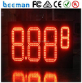 "10"" 8.889/10 Green color LED gas price digital sign with UNLEADED Light Box for Gas Station gas station led price sign"