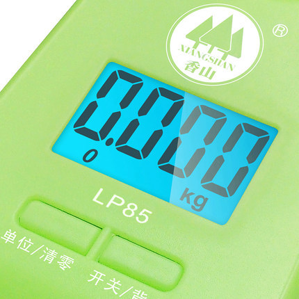 070461 portable hand-held spring balance express mini luggage electronic scales easy to carry free shipping