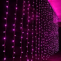 3m 2 5m 240 Bulbs Fairy LED Curtain Lights Christmas String Lights Garland New Year Luces
