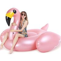 Giant Inflatable Unicorn Swan Flamingo Floated Row Lie On Rideable Lounge Raft Toys Kids Adults Summer Beach Party Swimming Pool