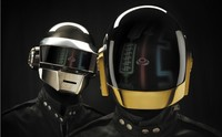 P0149 Daft Punk 24 X38 Poster Shipped In Paper Tube Wall Sticker