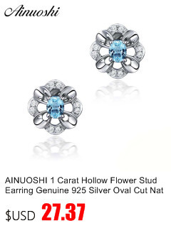 HTB1oqd EnlYBeNjSszcq6zwhFXaZ AINUOSHI Brand Sparkling Square Stud Earring Asscher Cut Sona Diamond Pure 925 Sterling Silver Shining Earring Lady Jewelry Gift