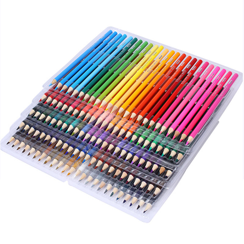 120/160 Colored Pencils Set Lapis De Cor Artist Painting Oil Unique Colors Wood Pencil For School Drawing Sketch Art Supplies new 48 colored pencil wood art school drawing craft oil sketch pencil painting settings for office school kids darwing supplies