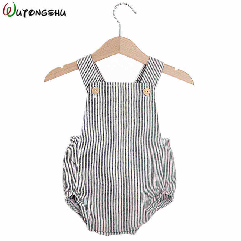 b4e7fa5f168a9 Baby Boys Romper Summer Infant Cotton Unisex Newborn Rompers New Born Baby  One-pieces Girls Jumpsuit Baby Boy Clothes Outfit