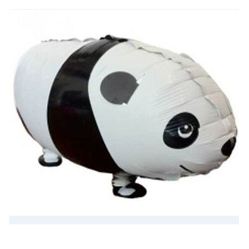 50pcs Panda Balloon Walking Pet Cartoon Helium Film Ballon for Children Kids Birthday Party Decoration Funny Home Garden Decor in Ballons Accessories from Home Garden