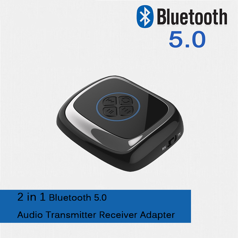 LEORY For APT-X DC 3.0-4.2 V CSR8670 2 in 1 Bluetooth 5.0 Receiver Transmitter Digital Optical Wireless HD Audio For Headphone gs788 bass headphones plug 3 5mm headset adjustable foldable headphone hifi 3d stereo music with microphone