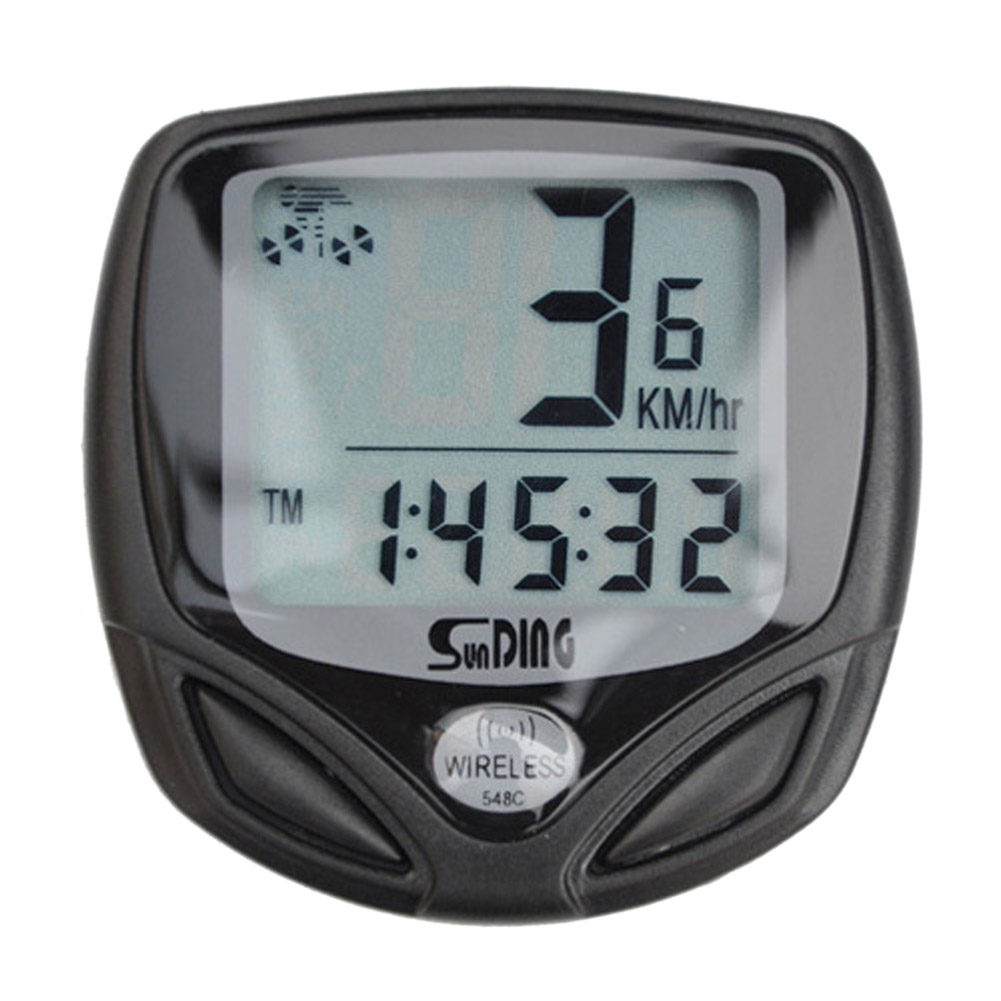 New Upgrade AutoStart Wireless Waterproof Digital LCD Backlight Bike Cycling Speed Computer Bicycle Speedometer Odometer