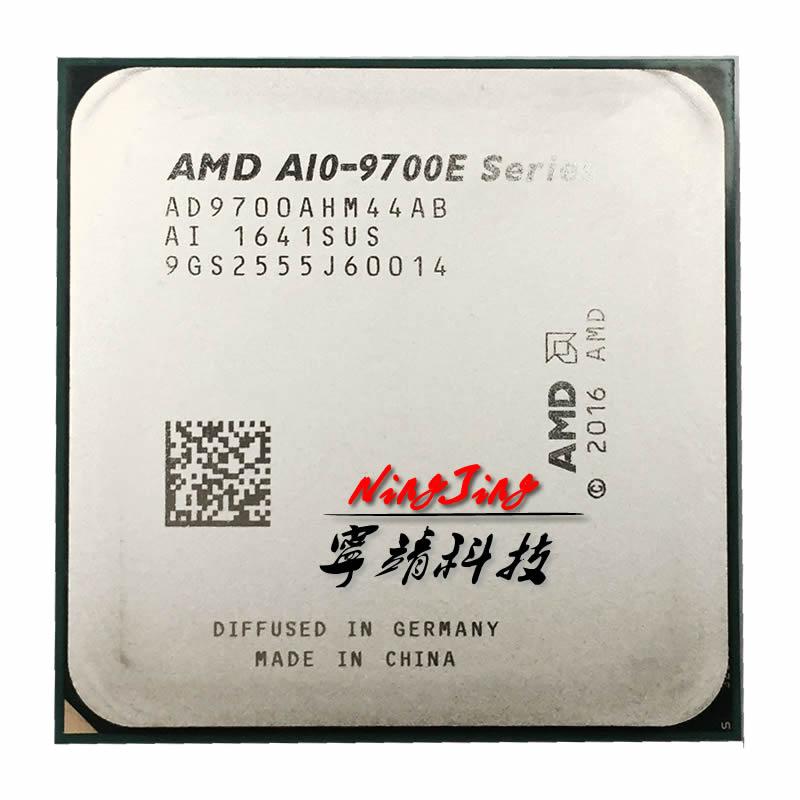 Четырехъядерный процессор AMD 9700, процессор A10 9700E 3,0 ГГц, процессор AD9700AHM44AB Socket AM4 satmak A10
