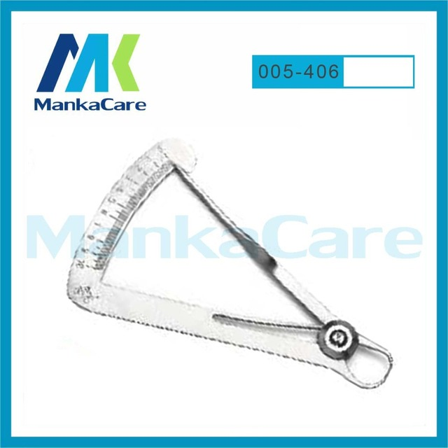 MKOI5406-Caliper Para Metal Instrumentos Odontológicos/pinça Redonda dicas/Jewelary ferramentas/Laboratório Medida Calipers/Cera Dental Laboratório regra
