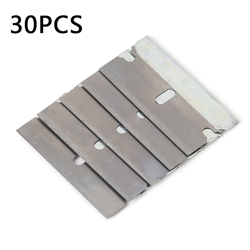 Ceramic Glass Oven Window Tinting Razor Scraper Tool Stainless Steel Blades 40mm