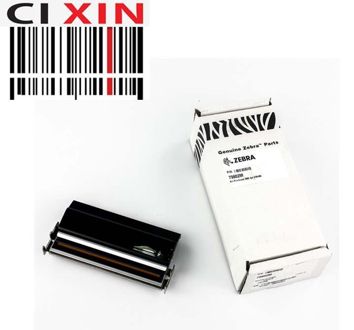 Оригинальная печатающая головка zebra ZM400, 600 точек/дюйм, 600 разрешение 79802 м, печатающая головка, бесплатная доставка