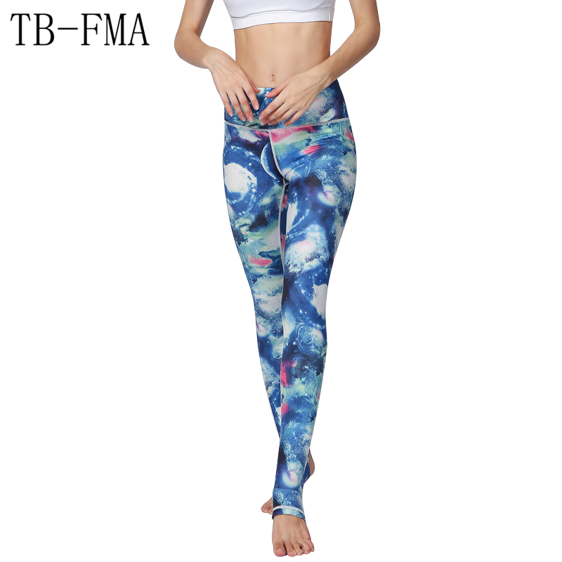 Women Sexy Yoga Pants Fit Sports Leggings Gym Workout Fitness High Waist Stretchy Dry Compression Sport Tights Yoga Sportswear