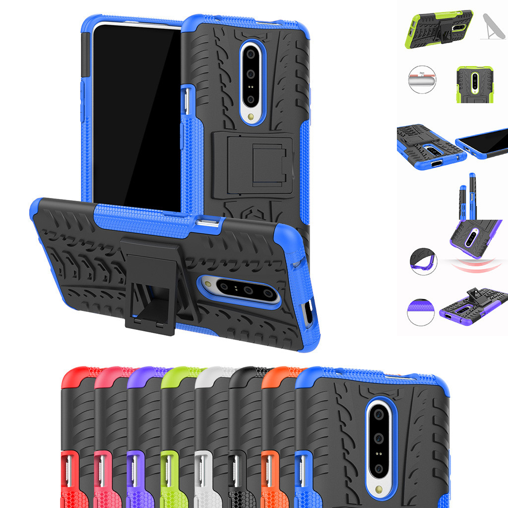 Rugged Armour Shock-Proof Hybrid Case With Bracket For One Plus 7 6.5 Inch