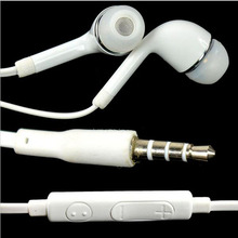 Stereo 3.5mm jack Headset Earphone for Samsung Galaxy S5 S4 S3 Note 3 Note 2 N7100 S4 mini Ace Tab