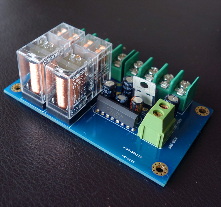 UPC1237 Speaker / Horn Protection Board / Dual And