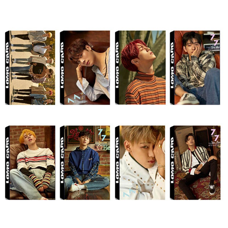 Office & School Supplies Have An Inquiring Mind 30pcs/set Popular Star Got7 Album Lomo Cards New Fashion Self Made Paper Photo Card Stationary Set Save 50-70% Stationery Set