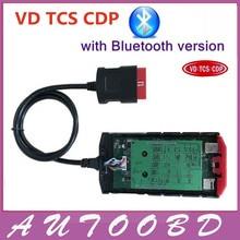 Yeşil Kurulu V9.0 Kırmızı nec VD TCS CDP PRO Artı Bluetooth Tam Set Kapak ile 2015R3/2014R3 Multidiag otomobiller için pro gibi keygen kamyonlar