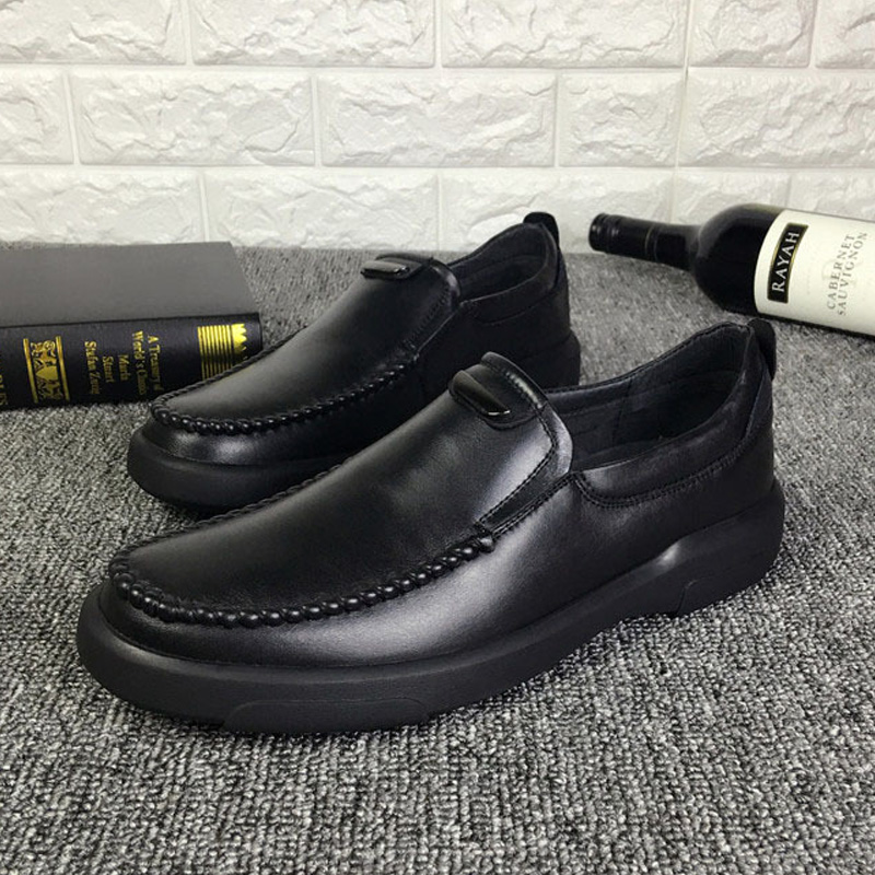 2017 High Quality Genuine leather Shoes Men leather Casual Shoes Men Driving Loafers Moccasins Men Soft Comfortable Shoes 38~44 2017 new brand breathable men s casual car driving shoes men loafers high quality genuine leather shoes soft moccasins flats