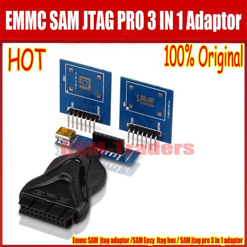 bilder für 100% Original GPG EINFACH JTAG BOX einfach jtag box Emmc BOX 3 in 1 Adapter