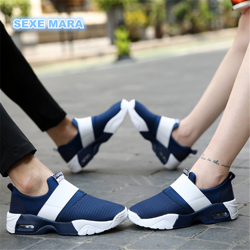 2017 Size 35 44 Lovers Women Running shoes Woman Sneakers Air cushion Sport Shoes Brand zapatillas deportivas mujer Wedge
