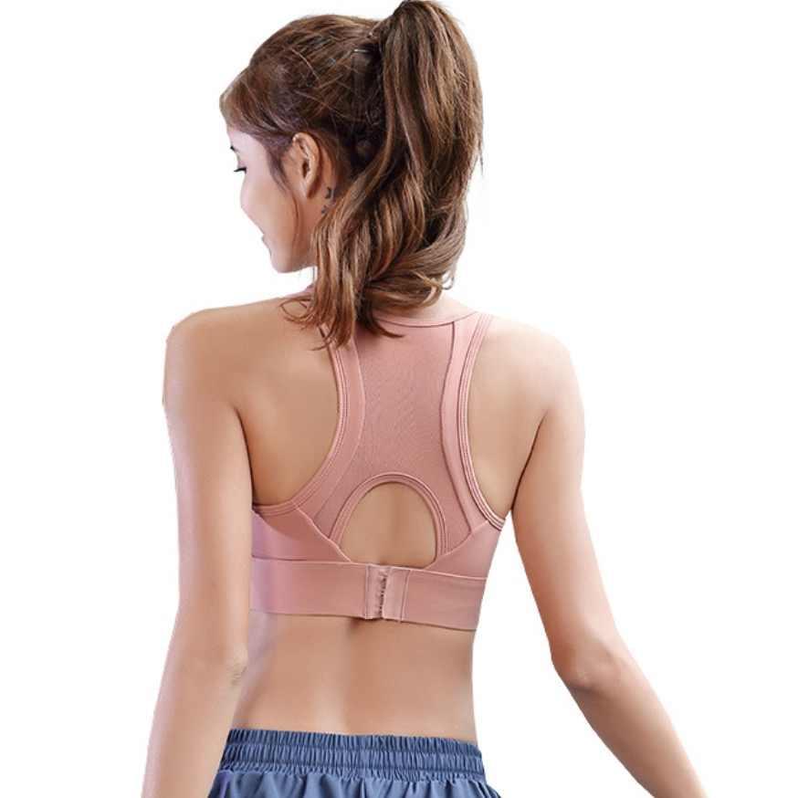 EF1158 сетчатый спортивный бюстгальтер на спине Топ для женщин Йога Фитнес топ кроп топы для спортзала бега спорта одежда спортивная одежда