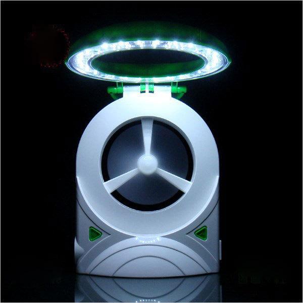 LED de poupança de energia mini lâmpada de mesa portátil elétrica fanflashlight Multi-função dobrável candeeiro de mesa Criativo luz de emergência