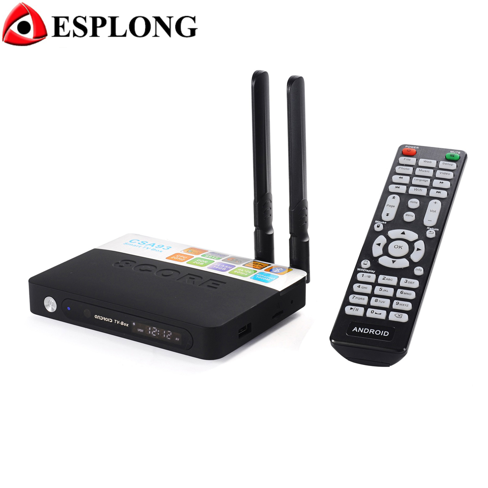 CSA93 Amlogic S912 Octa Core Android 6.0 TV Box 3GB DDR3 32GB ROM Smart Media Player 2.4G/5.8G Dual WiFi 4K Bluetooth 4.0 TV Box csa93 amlogic s912 octa core 3gb ram 32gb android 6 0 tv box 2gb 16gb bt4 0 2 4 5 8g dual wifi h 265 4k 1000m smart meida player