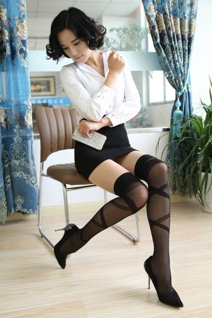 Stocking tease pictures