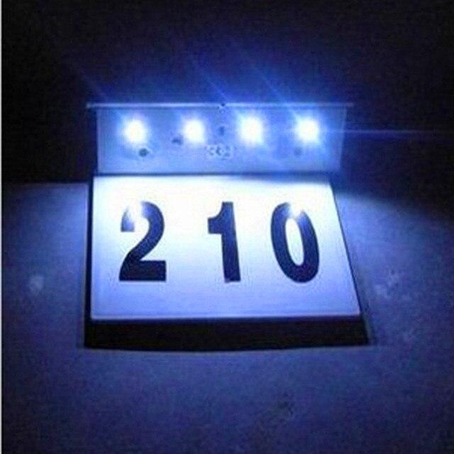 4 LED rvs zonne verlichting licht bediende led billboard lamp van ...