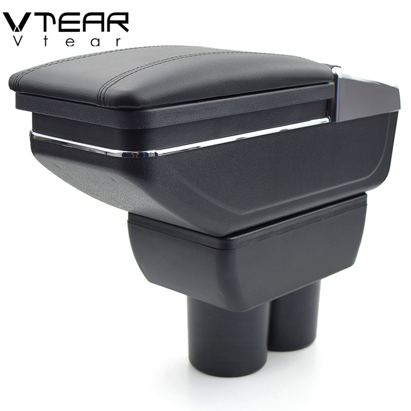 Vtear for Suzuki Jimny armrest box central Store content box products interior Armrest Storage car styling