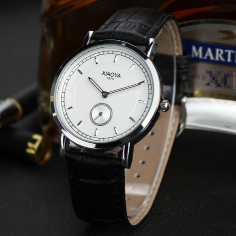 Mens watches from leading luxury brands XIAOYA Montre Homme Stainless Steel Watches Men Quartz-Watch Curren Watch Show men