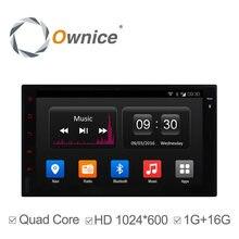 Ownice c300 2 din universale android 4.4 full touch panel gps collegamento specchio di navigazione Autoradio Player Quad Core wifi bt No DVD